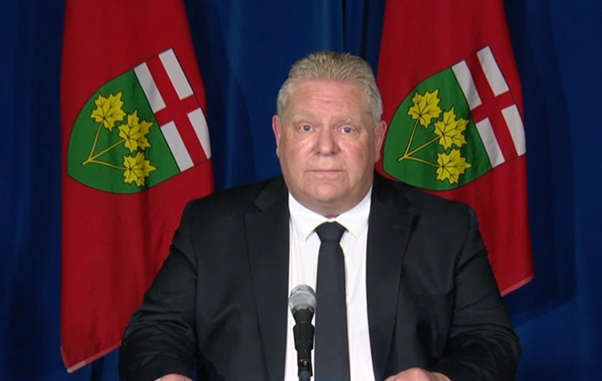 Ontario Premier Ford Announces New Restrictions Checkpoints For Inter Provincial Travel Travelweek
