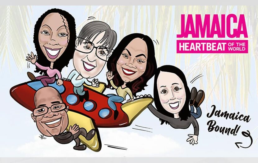 Get your very own agent caricature, courtesy of the JTB