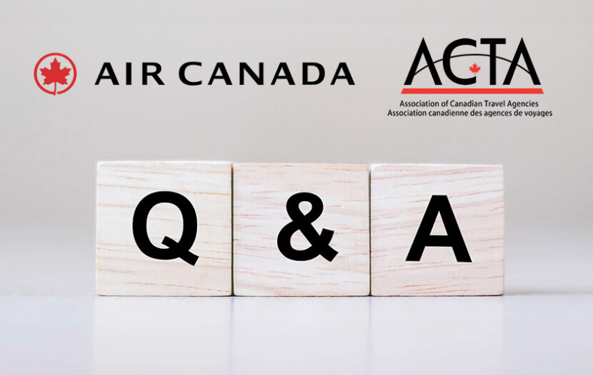 So many questions, so many answers: Air Canada and ACV tackle agents' COVID refund Q&As during ACTA webinar