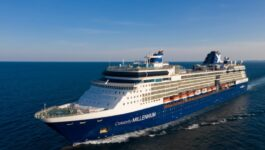 Celebrity to sail industry's first ship from a U.S. port