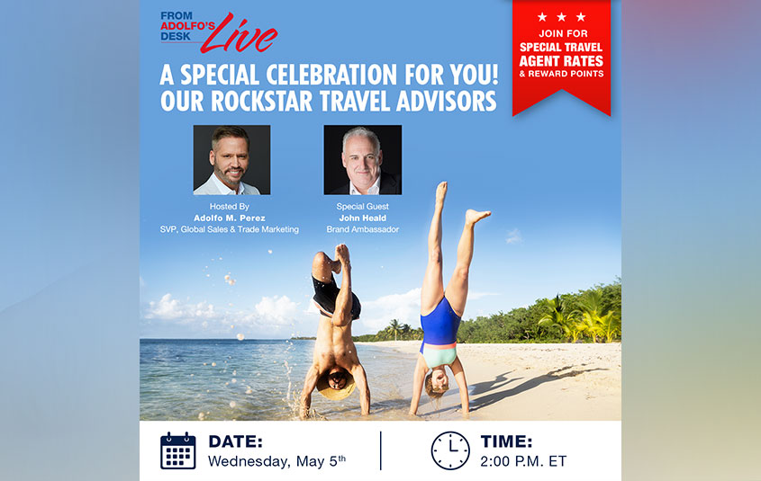 Carnival celebrates travel advisors with a special themed webinar