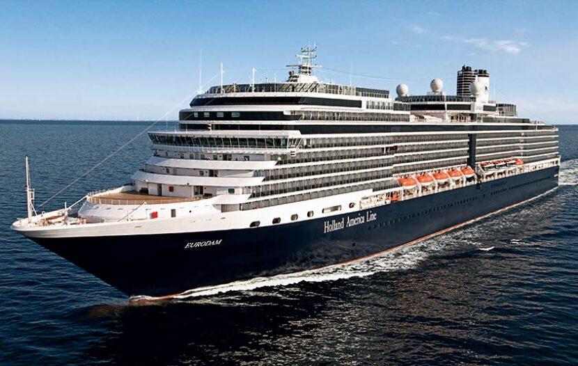Four ships transiting the Panama Canal with Holland America in 2022-23