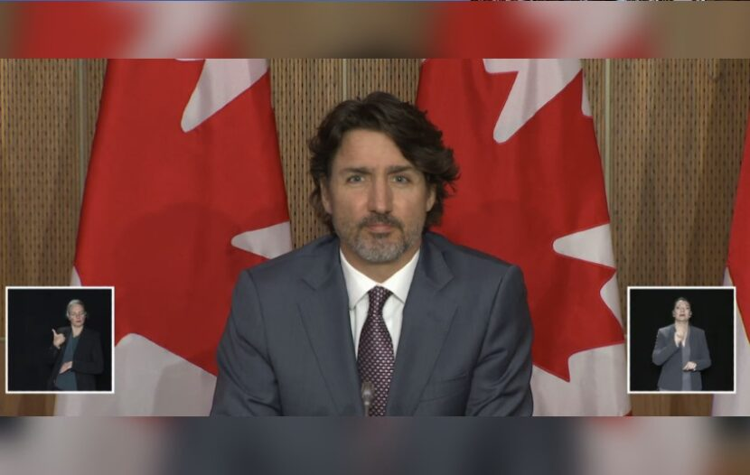 Trudeau asked about reopening plans for the Canada-U.S. Border, here's what he said