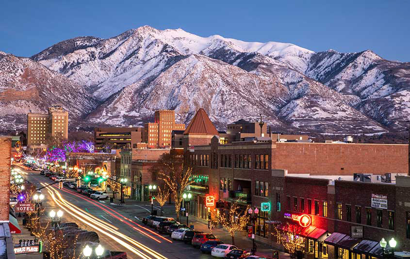 Urban experiences in Utah are a perfect mix with the state's natural beauty