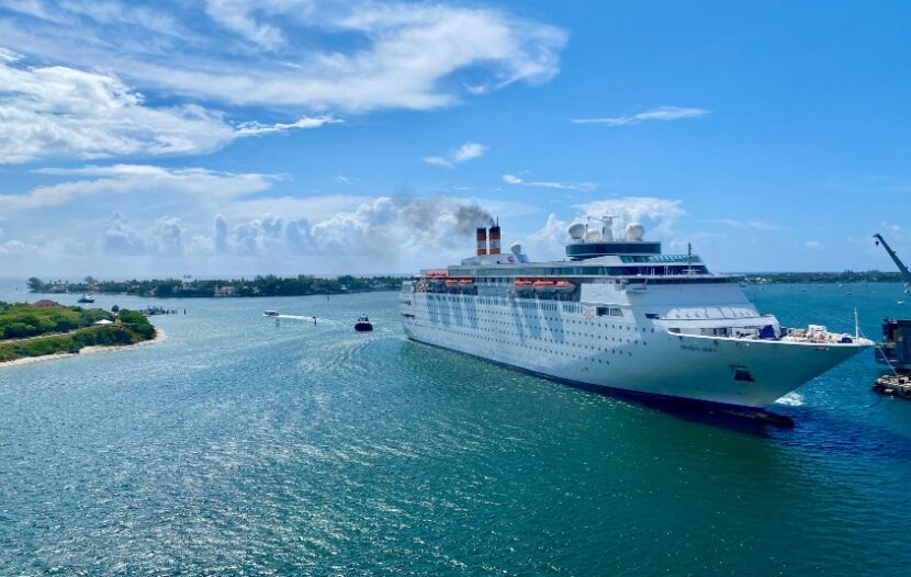 Bahamas Paradise Cruise Line's Grand Classica returns to homeport ahead of test cruise