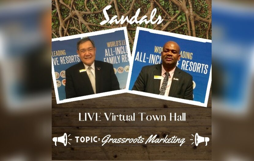 Sandals Resorts' June 23 town hall gets back to basics with marketing