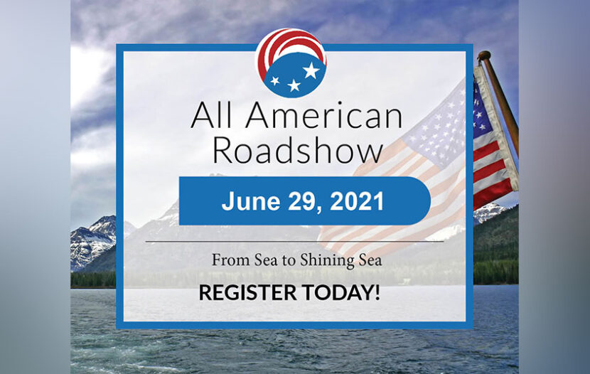 Register now for the All American Roadshow virtual event, taking place June 29