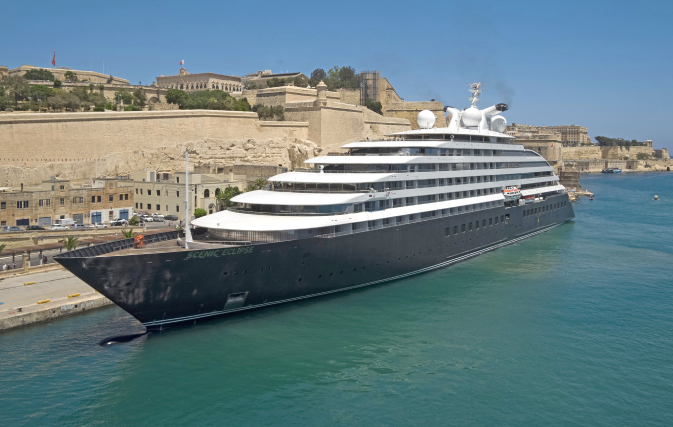 Scenic Eclipse to sail brand new voyages in Europe & Med in 2022/2023
