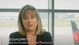Lucie Guillemette, EVP and Chief Commercial Officer for Air Canada and President of ACV