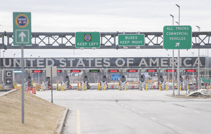 Canadian border workers vote to strike ahead of U.S. border reopening