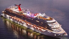 Carnival celebrates its first California sailings since the start of the pandemic