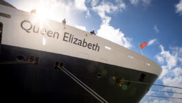 Cunard sets sail for the first time in 17 months