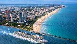 NCL sails out of Miami for the first time in 17 months