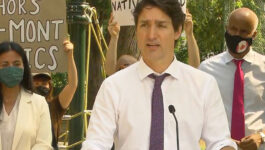 Here's what Trudeau said today about the Canada-U.S. border