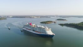 Carnival's Justin French is just back from a cruise on Mardi Gras, here's what he had to say