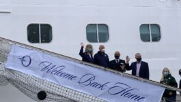 Oceania Cruises resumes operations with the Marina