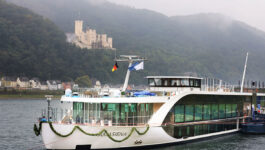 AmaWaterways welcomes its newest river cruise ship, AmaSIena
