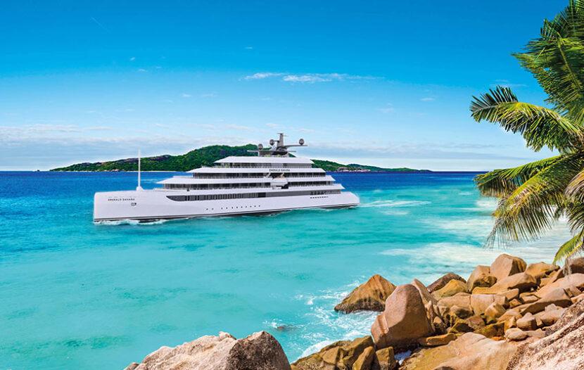 Emerald Sakara coming in 2023 as sister-superyacht to Emerald Azzurra