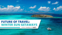 Watch today at 1 p.m. EDT for Travelweek's ''Future of Travel: Winter Sun Getaways' online conference