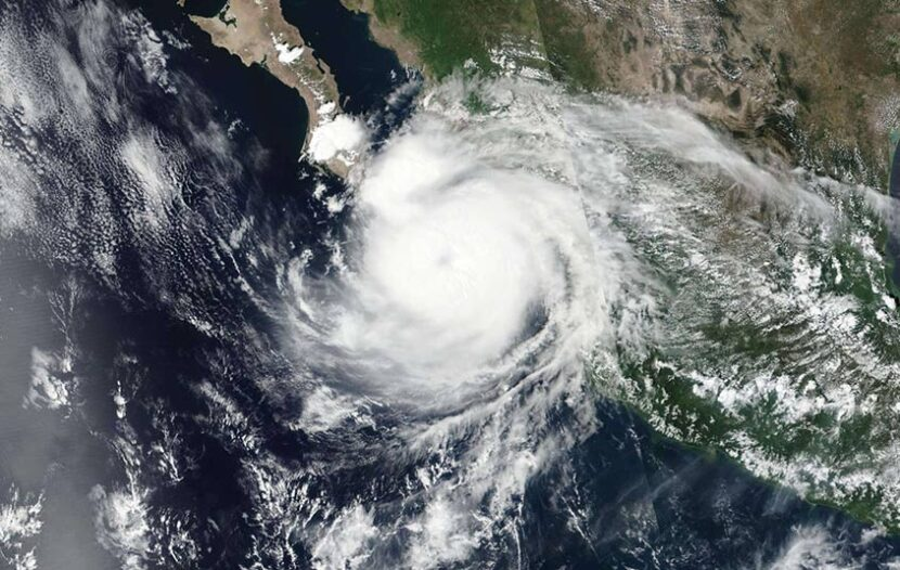 Hurricane Olaf hits Mexico's Los Cabos resorts at Category 2
