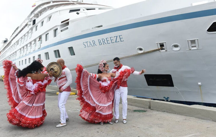 Colombia welcomes back cruise ships